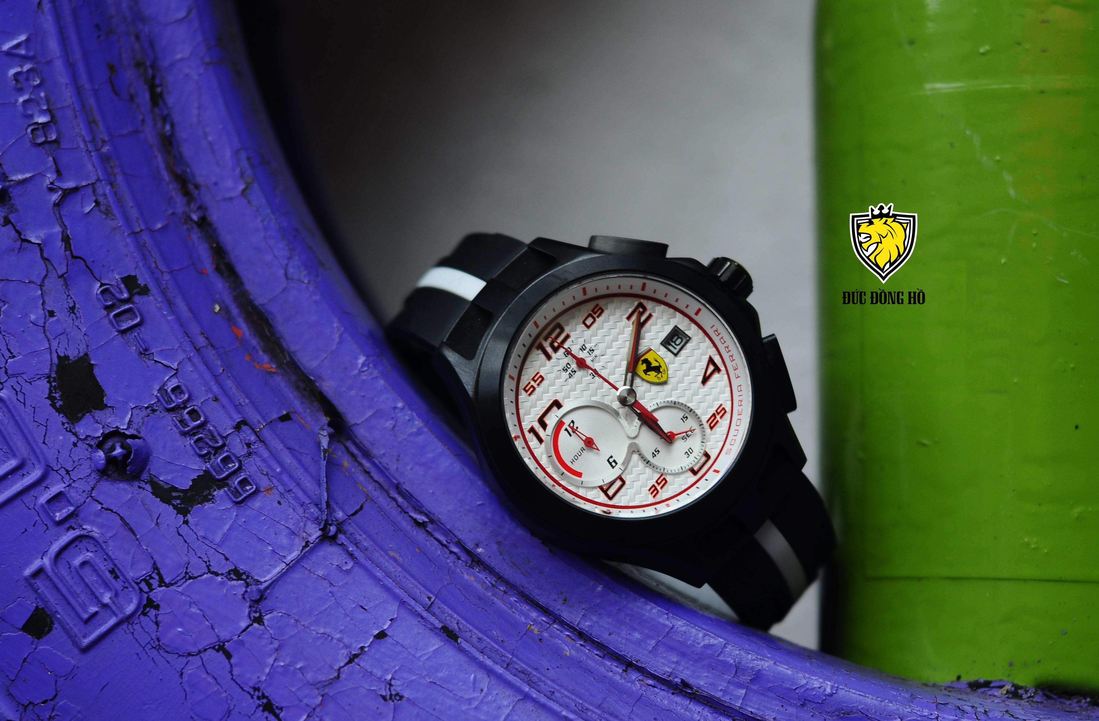Đồng Hồ Ferrari Nam 101